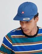 Gorra de 6 paneles con tira trasera y logo pequeño de DC Shoes