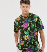 Camiseta con estampado floral con logo de jugador de Polo Ralph Lauren...