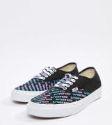 Zapatillas negras exclusivas en ASOS de Vans Authentic